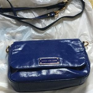 Marc Jacob Cobalt Blue Crossbody Bag